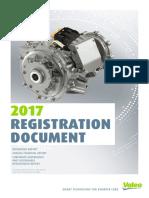 Valeo 2017 Registration Document