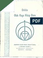 Orhiba (Olah Raga Hidup Baru)