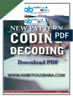 New pattern of coding decoding