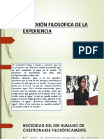 REFLEXIÓN FILOSOFICA DE LA EXPERIENCIA.pptx
