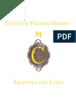 Museo Cerralbo. Itinerario lujoso