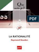 (Que Sais-je ) Boudon, Raymond - La Rationalite-Presses Universi