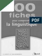 100 Fiches Pour Comprendre La Linguistique - Copie