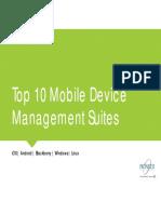 1pdf.net Top 10 Mobile Device Management Suites