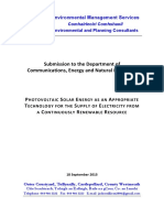 ISI-088 Complete Submission to DCENR on Solar Renewable Energy, Rev B, Final, 18-Sep-15