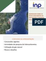 PT-Abordagem Sobre as Novas Descobertas de Gas Natural e Desafios Para o Futuro-Instituto Nacional de Petroleo
