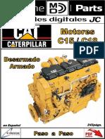 Motor Cat c15 c18 Armado y Desarmado ORG