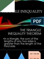 Triangle Ineq