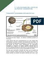 IMPORTANCIA  Y APLICACIONES DEL  ACEITE DE COCO EN LA NUTRICION  CUIDADOS DEL CUERPO.docx