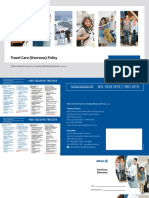Travel Care Overseas Policy Wording - English & BM Version