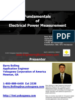 Fundamentals of Electrical Power Measurement