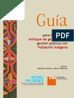 Guia Para Incorporar Enfoque de Genero en La Gestion Publica Con Poblacion Indigena
