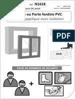 Notice Fenêtre - Porte-fenêtre PVC Pose APPLIQUE