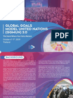 Proposal Global Goals Model United Nations (GGMUN) 3.0