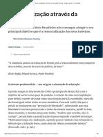 ARTIGO - Ressocialização Através Da Educação (Penal) - Artigo Jurídico - DireitoNet