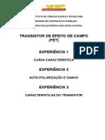 Relatório 123 Prática Lab Fet Jfet