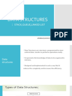 Familarisation of Data Structures