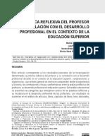 Practica Reflexiva y Desarrollo Docente E. Superior (1)
