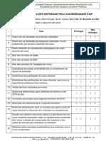 Relação de Documentos Dos Cursos - Coordenações