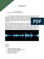 Sound Physics (Gaas)