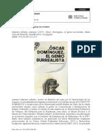 Óscar Domínguez, El Genio Surrealista RESEÑA
