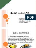 Diapositivas Electricidad ,moises martinez