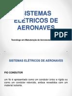 SISTEMAS ELÉTRICOS DE AERONAVES