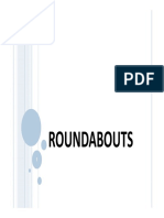 Roundabout Design Lctr 23-24-25 26