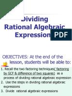 Dividing RAE observation.ppt