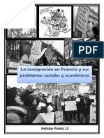 inmigracion a francia y problematica social