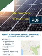 Taller Fotovoltaico 23- Ejercicio Diseño 2 - Instalado
