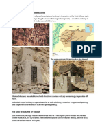 Housing of the Dogon Tribe in Mali.docx
