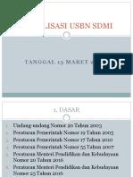 2018 Sosialisasi Usbn Sd