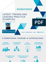 Strategic Workforce Planning Latest Trends Leading Practice Examples and Group Discussion by Julia Howes Mercer