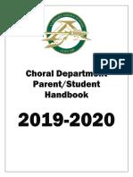 albright choir handbook 2019-2020