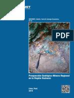 B054-Boletin-Prospeccion Geologica Minera Huanuco