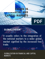 Globalization in Financial and Capital Market (Group 6)