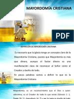 Principion Biblicos de La Mayordomia