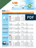 EcoLum Price List