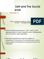 The Self and the Social Network