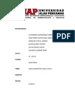 Responsabilidad Auditor Externo