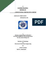 Uttarpradeshpowercorparationltd Trainingreport 100923103302 Phpapp02