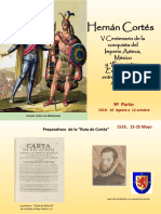 Hernán Cortés, 9ª Parte