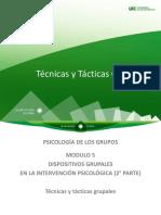 M5 Act 5.3 PP Técnicas y Tácticas Grupales