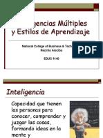 01_Expo_Inteligencia,I. Multiple y Estilos de Aprendizaje