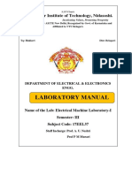 17eel37 Eml Lab Manual