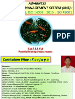 Integrasi Management System 9001,14001, 45001