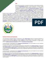 CONTEXTO HISTORICO DE CENTROAMERICA
