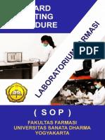 Sop Lab Farmasi Usd