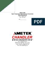 Chandler Model 7550 Hpht Viscometer Manual